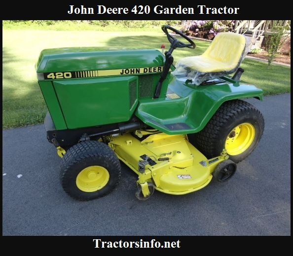 John Deere 420 Garden Tractor Price, Specs, Review & Attachments