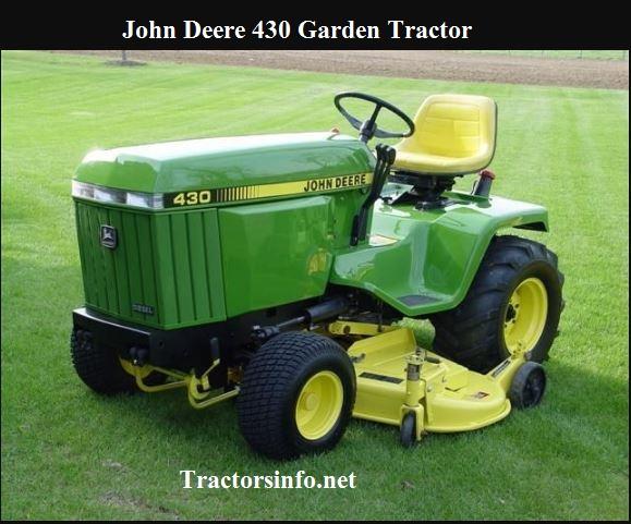 John Deere 430 Garden Tractor Price, Specs, Review
