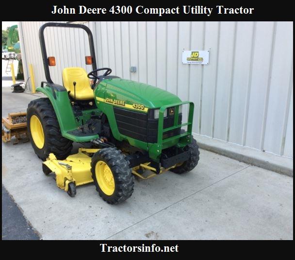 John Deere 4300 Price, Specs, Review & Attachments