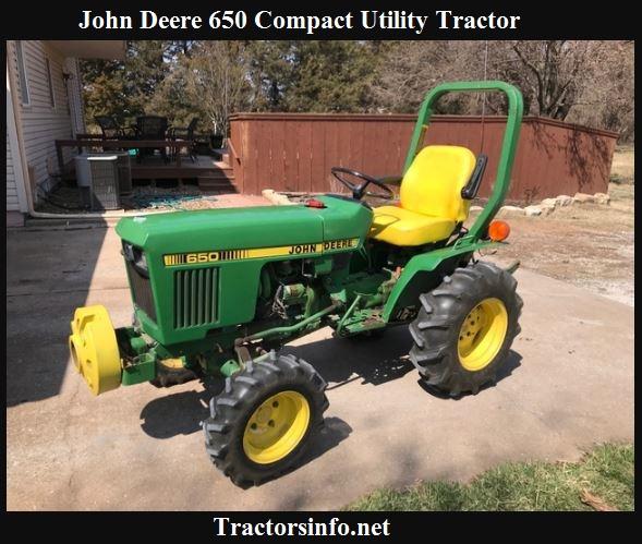 John Deere 650 Price, Specs, Review & Attachments