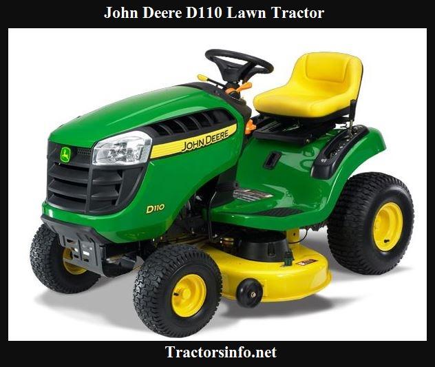 John Deere D110 Price, Specs, Review & Attachment