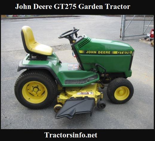 John Deere GT275 Price, Specs, Review & Attachments