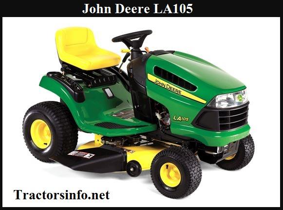 John Deere LA105 Specs, Price, Reviews, Serial Numbers
