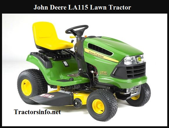 John Deere LA115 Price, Specs, Review & Attachments