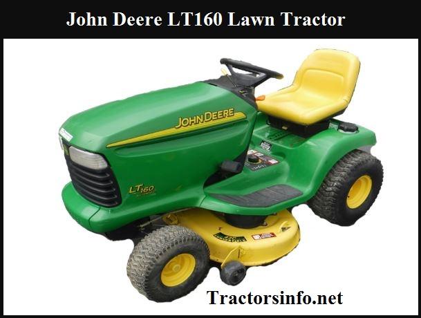 John Deere LT160 Price New, Specs, Reviews, & Features