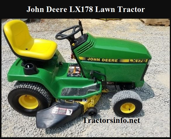 John Deere LX178 Price specs