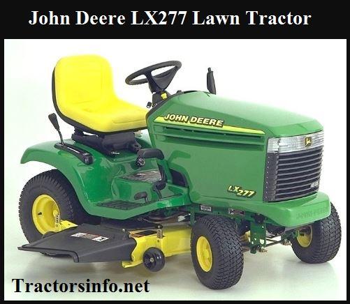 John Deere LX277 Price, Specs, Review & Attachments