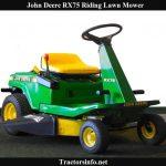 John Deere RX75 Price, Specs, Review & Attachments