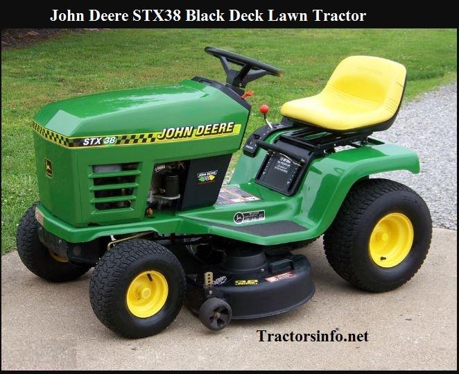 John Deere STX38 Black Deck Review, Price, Specs & Features