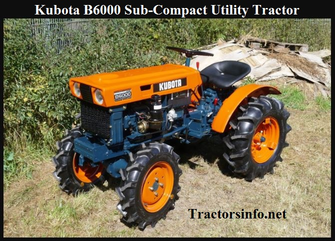 Kubota B6000 Sub-Compact Utility Tractor Price, Specs & Reviews