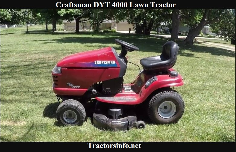 Craftsman DYT 4000 Price, Specs, Reviews & Attachments