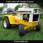 Cub Cadet 149 Pricespecs reviews