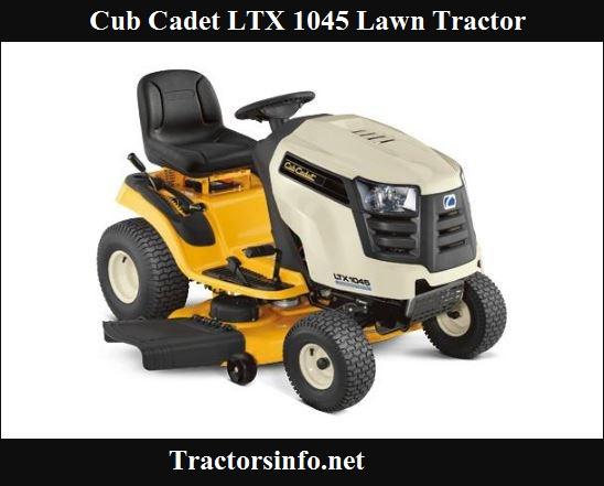 Cub Cadet LTX 1045 Price, Specs, Review & Attachments