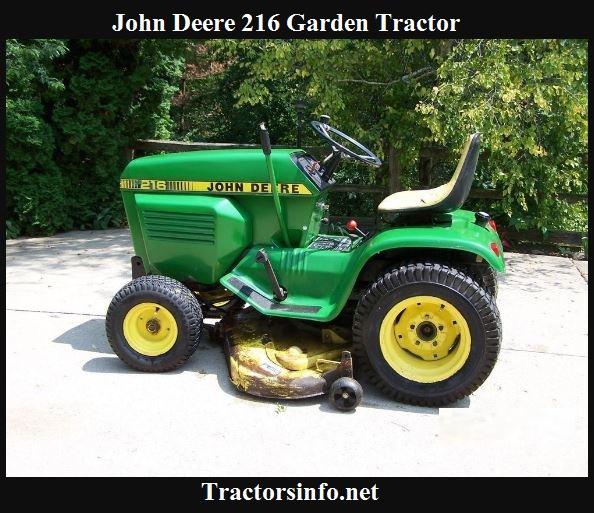 John Deere 216 Price, Specs, Reviews & Attachments