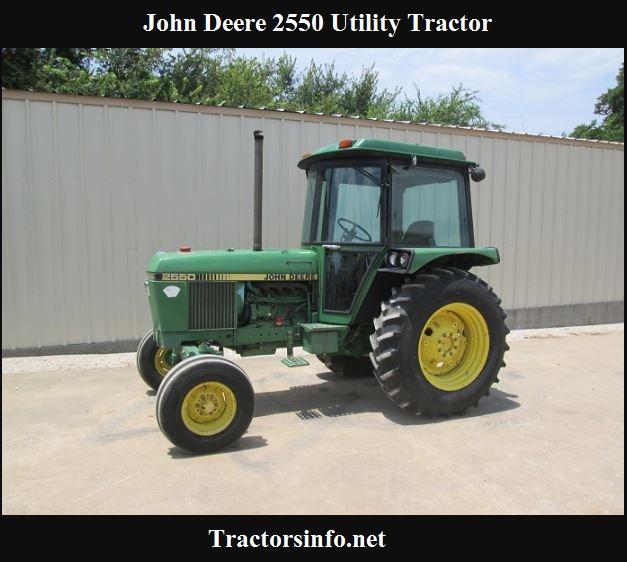 John Deere 2550 Horsepower, Specs, Price & Reviews