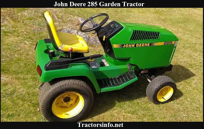 John Deere 285 Specs, Price, Reviews & Attachments