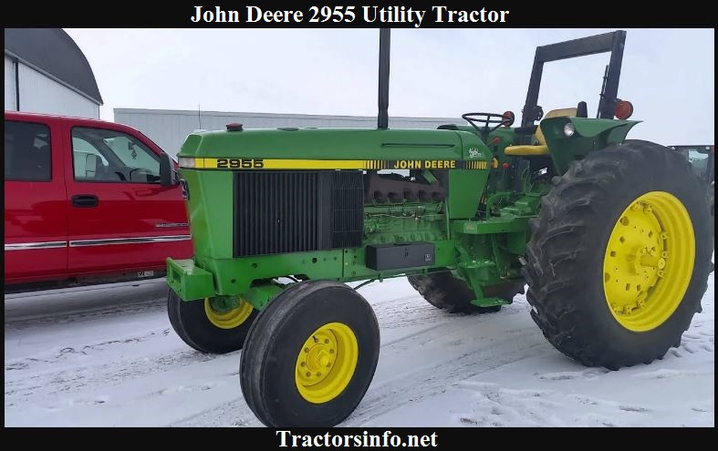 John Deere 2955 Price, Specs, Reviews & Attachments