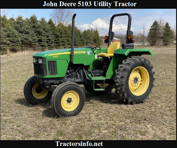 John Deere 5103 Price, Specs, Reviews & Attachments