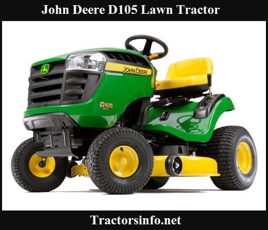 John Deere D105 Price, Specs, Review & Features
