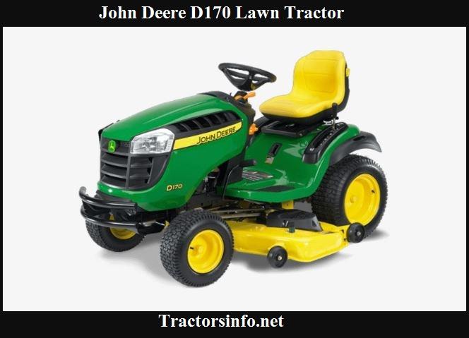 John Deere D170 Price, Specs, Review & Attachments