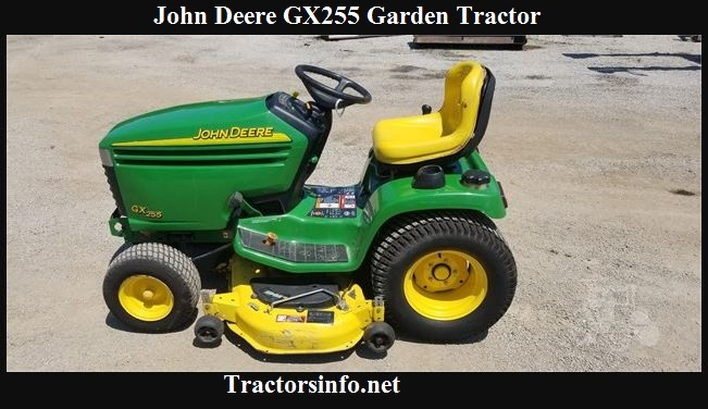 John Deere GX255 Price, Specs, Reviews & Attachments