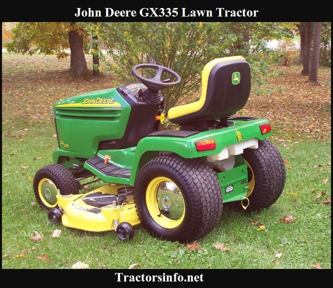 John Deere GX335 Price, Specs, Reviews & Attachments