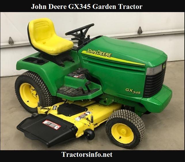 John Deere GX345 Specs, Price, Review & Attachments