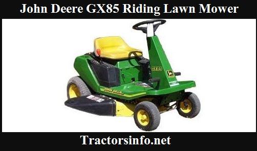 John Deere GX85 Riding Lawn Mower Price, Specs, Review