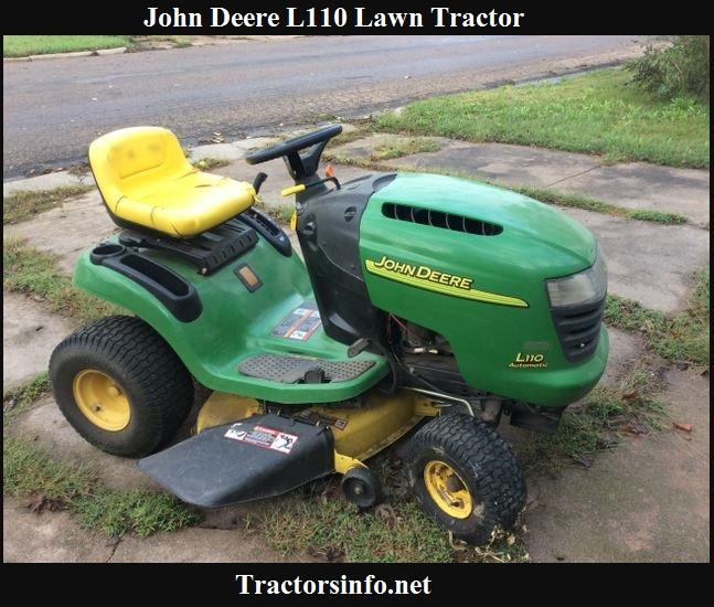 John Deere L110 Price, Specs, Reviews & Attachments