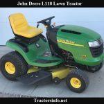 John Deere L118 Price, Specs, Review & Attachments