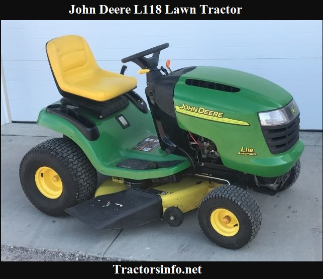 John Deere L118 Price, Specs, Review & Attachments