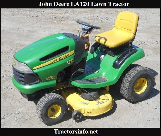 John Deere LA120 Price, Specs, Review & Attachments