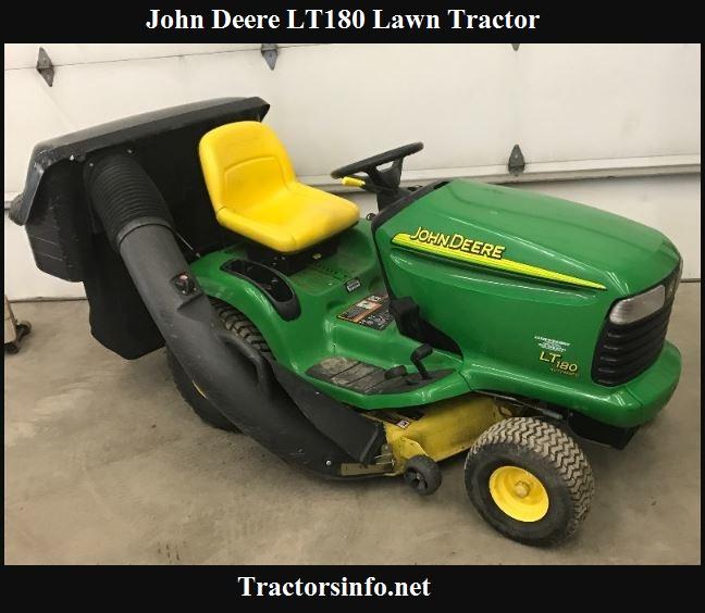 John Deere LT180 Price New, Specs, Reviews & Attachments