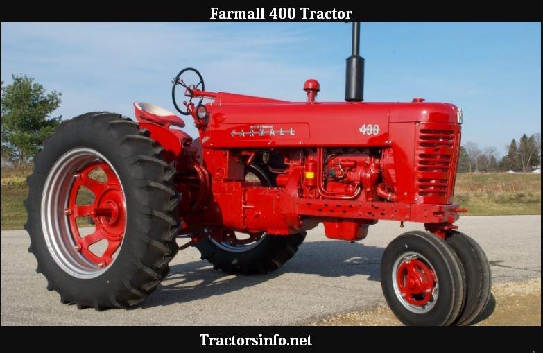 Farmall 400 HP, Price, Specs, Engine Oil Capacity & History