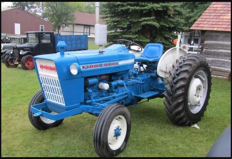 Ford 3000 Tractor HP, Price, Review, Specifications, History, Serial Numbers Weight, Features & Images
