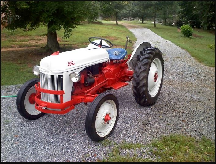 Ford 8N Tractor HP, Price, Specs, Review & Implements