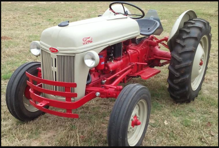 Ford 8N Tractor Specs