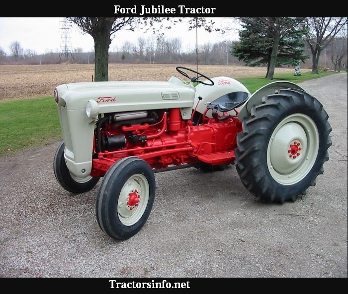 Ford Jubilee Tractor Price