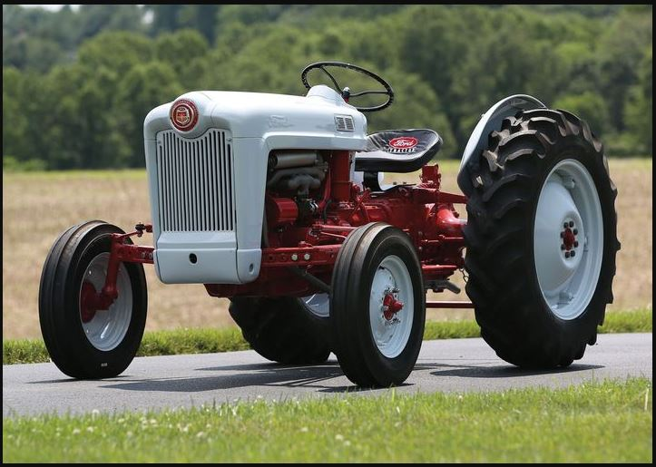 Ford Jubilee Tractor Specs