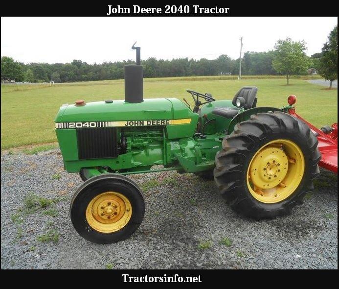 John Deere 2040 Tractor Price, Specs, Oil Capacity & Review