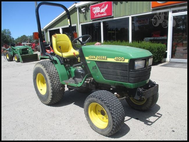 John Deere 4100 Tractor Price, Specs, Review, Serial Numbers, Horsepower, Weight, Engine Oil Capacity, History & Pictures