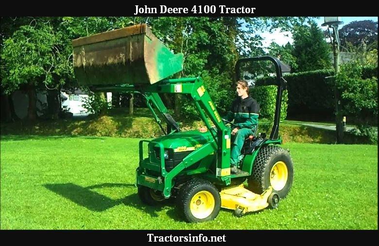 John Deere 4100 Tractor Price