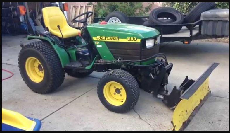 John Deere 4100 Tractor Specs