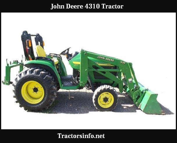 John Deere 4310 Price New, Specs, Reviews & Attachments