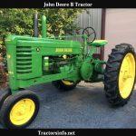 John Deere B Tractor HP, Price, Specs, Review & History
