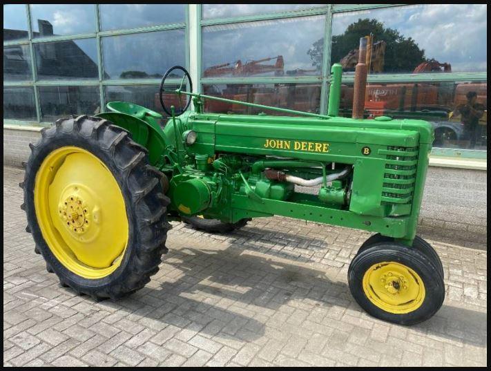 John Deere B Tractor Price