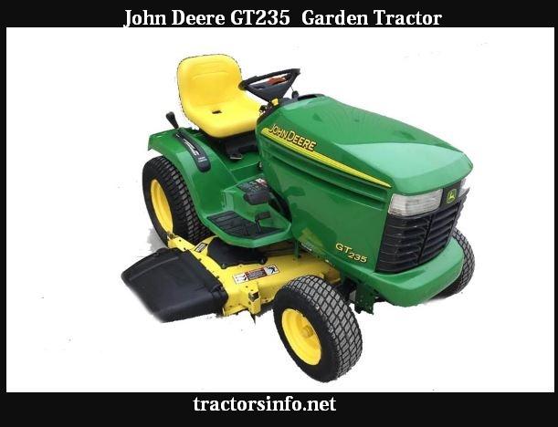 John Deere GT235 Price, Specs, Reviews & Attachments