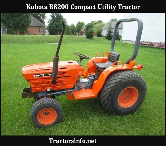 Kubota B8200 Price, Specs, Review, Horsepower, Weight, Engine Oil Capacity, Attachments, History & Pictures