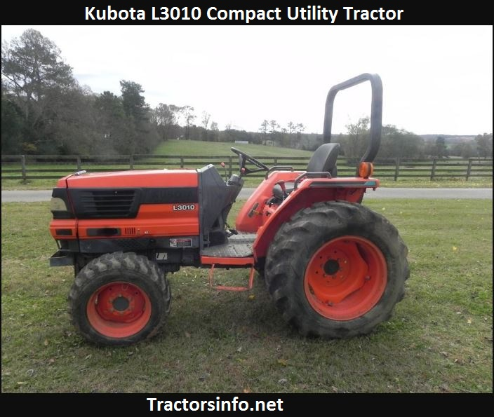Kubota L3010 HP, Specs, Price, Review & Attachments
