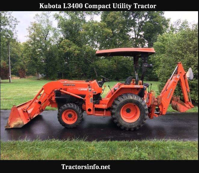 Kubota L3400 Price, Specs & Reviews